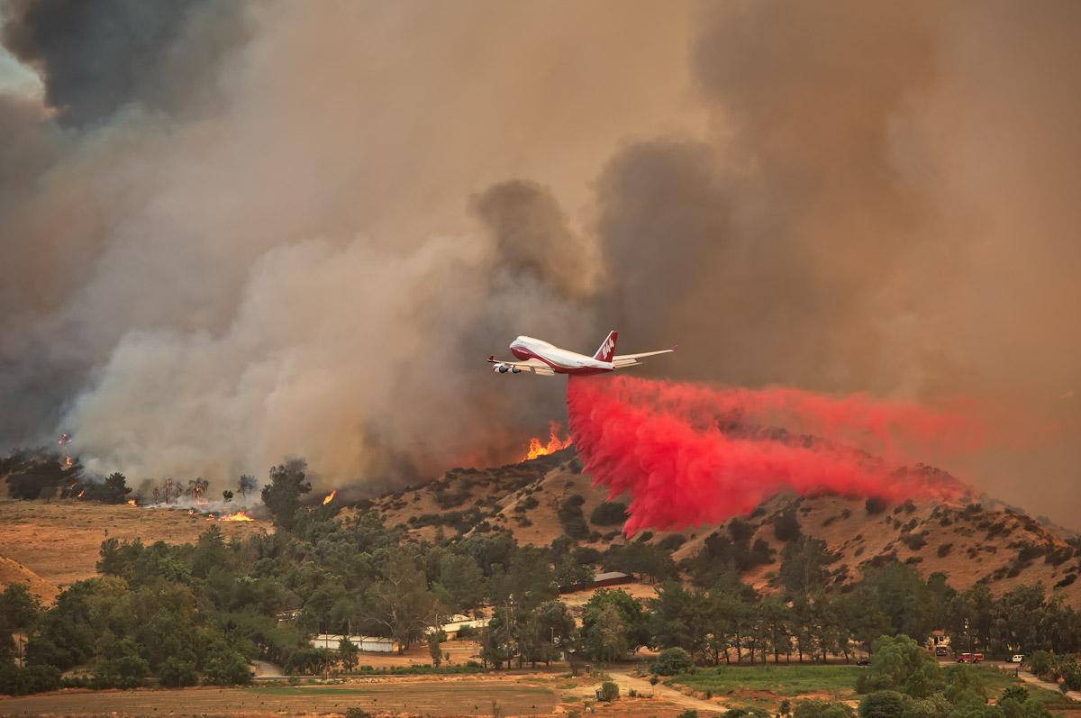 747 Palmer Fire