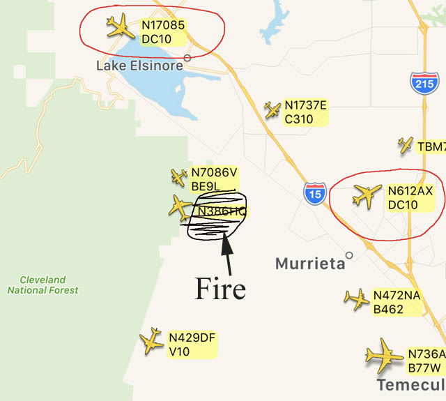 Wildomar Fire in Southern California grows to 700 acres Wildfire Today