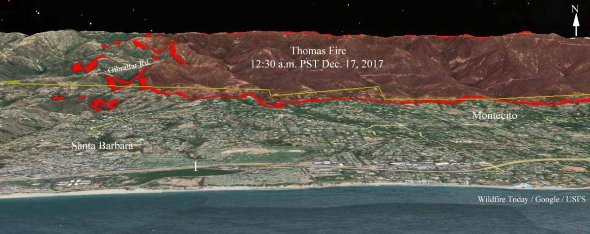 Firefighters on Thomas Fire save hundreds of homes in Montecito area