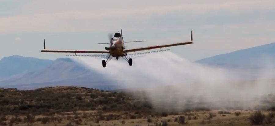 fuel break herbicide aerial application