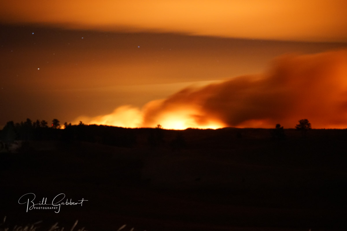 (SD)-Hwy 79 Open, Buffalo Gap Threatened, Fire Over 35000 Acres