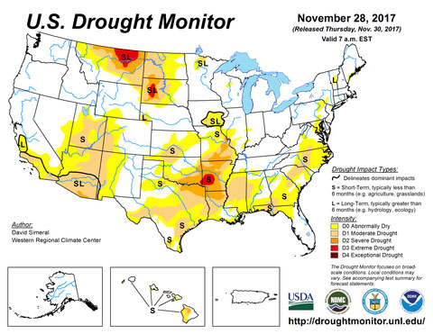 drought monitor weather