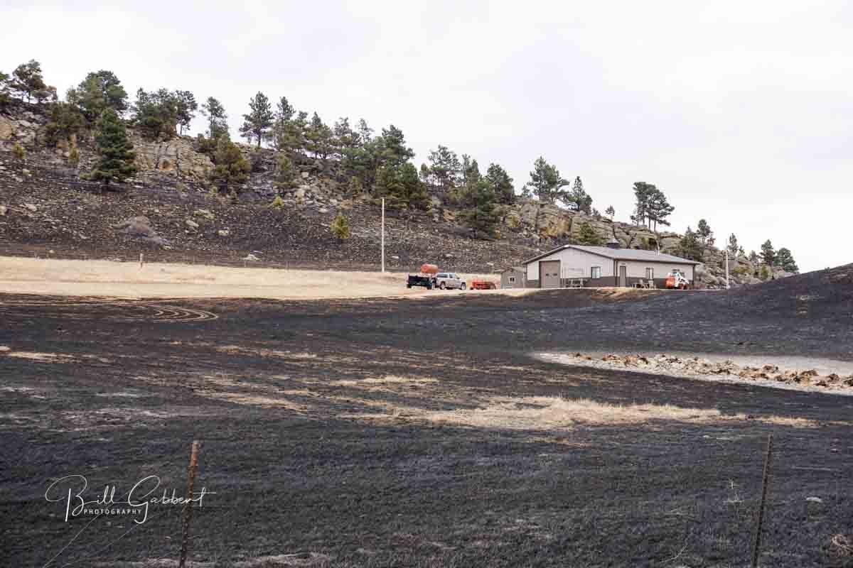 Legion Lake Fire South Dakota