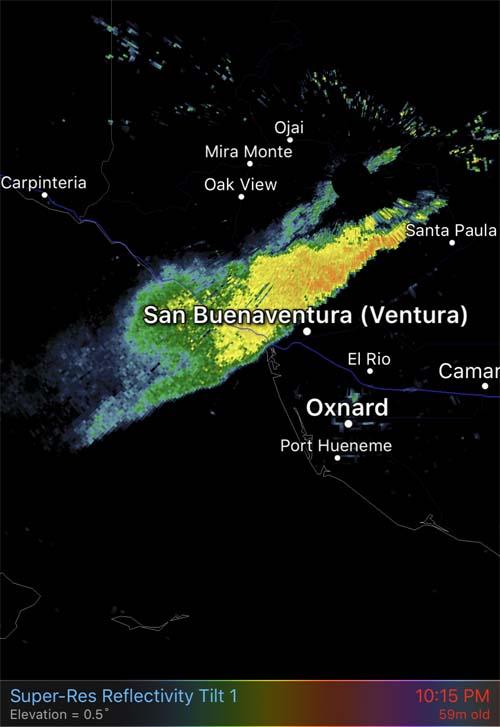 Santa Paula California Map
