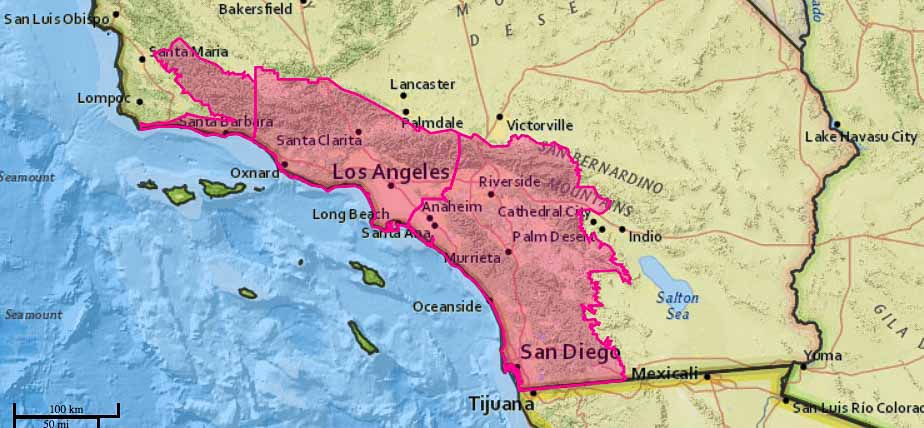 Strong winds and extreme wildfire danger predicted for Southern California this week