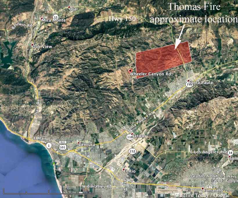 Thomasfire 930pmpst 12 4 2017 Wildfire Today
