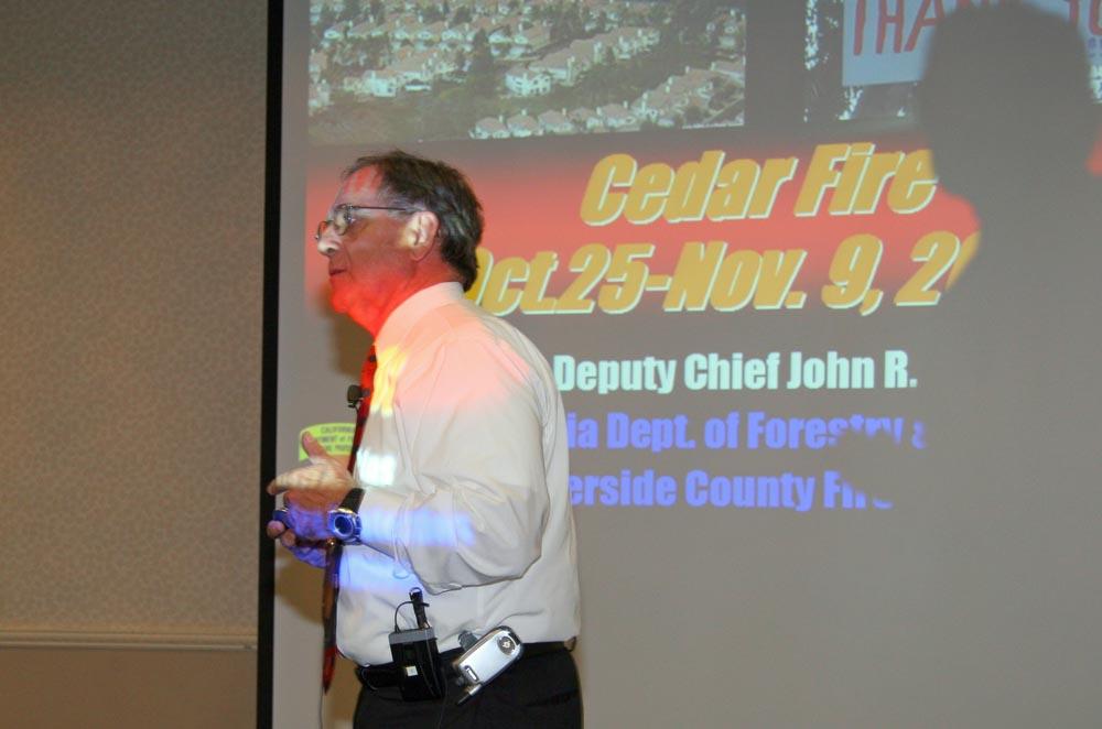 CAL FIRE Chief John Hawkins