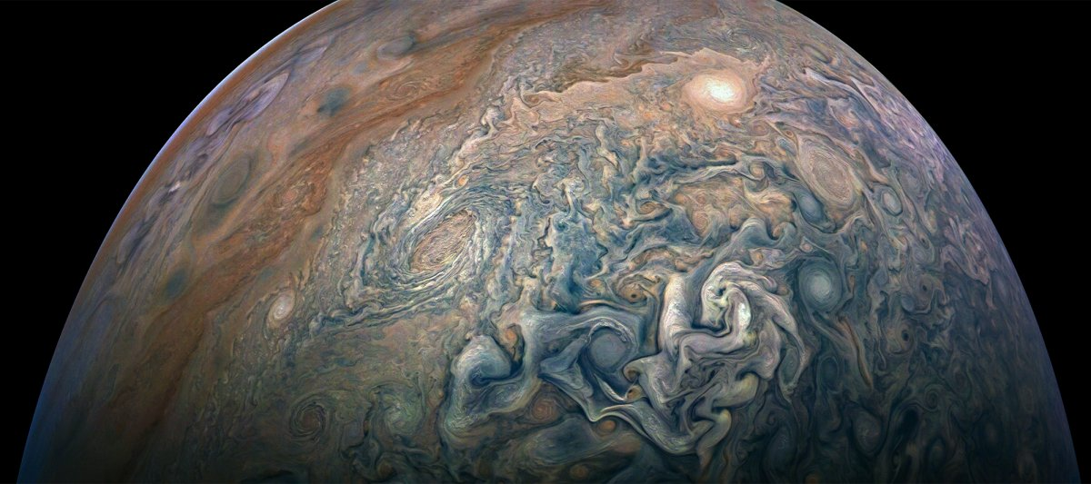 Jupiter, seen at 130,000 mph - Wildfire Today