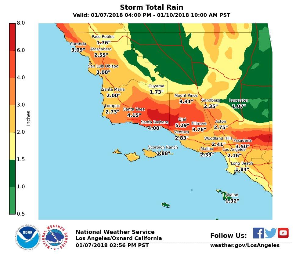 Evacuations Ordered Below Wildfires In Santa Barbara
