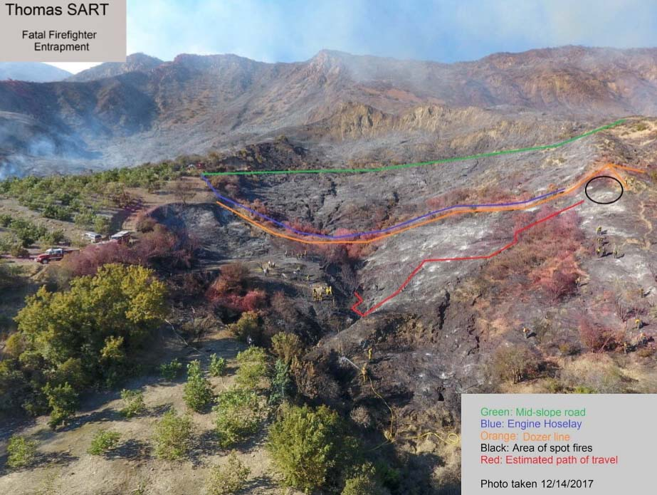 Thomas Fire Archives Wildfire Today