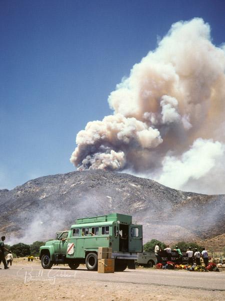 arizona wildfire volcano