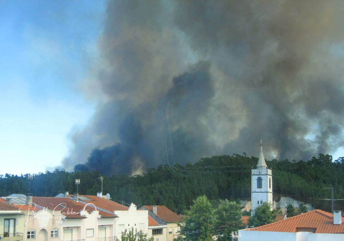 wildfire portugal