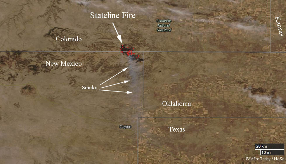 Stateline Fire burns more than 20,000 acres in New Mexico and ...