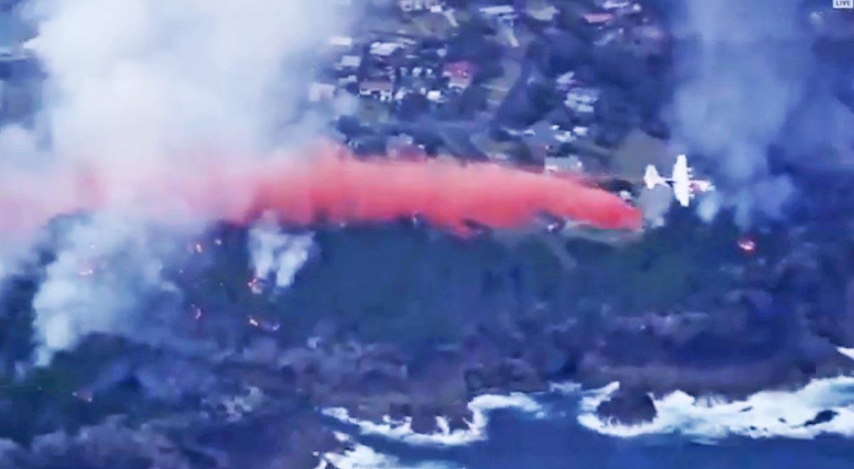 bushfire Tathra new south wales