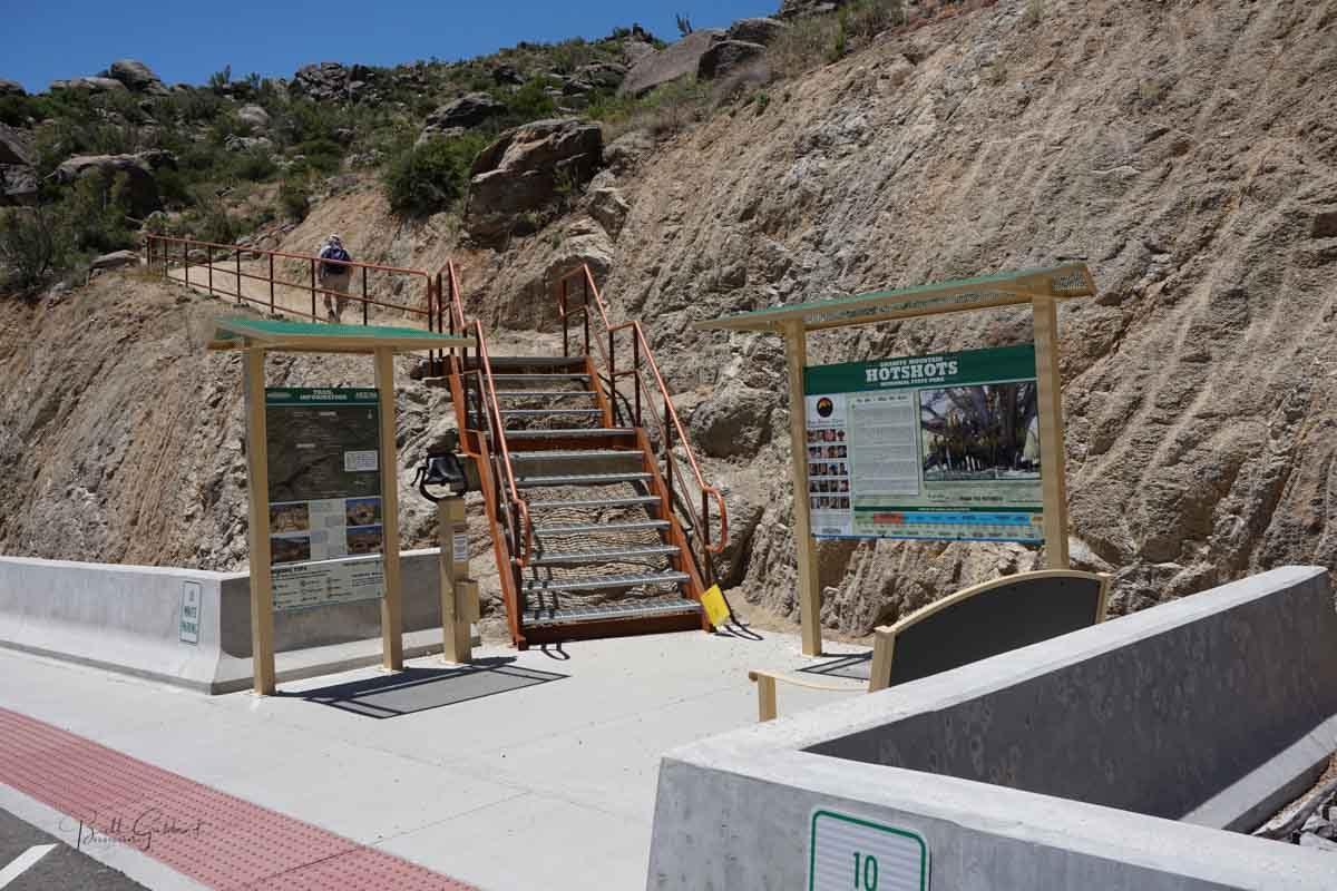 trailhead Granite Mountain Memorial State Park