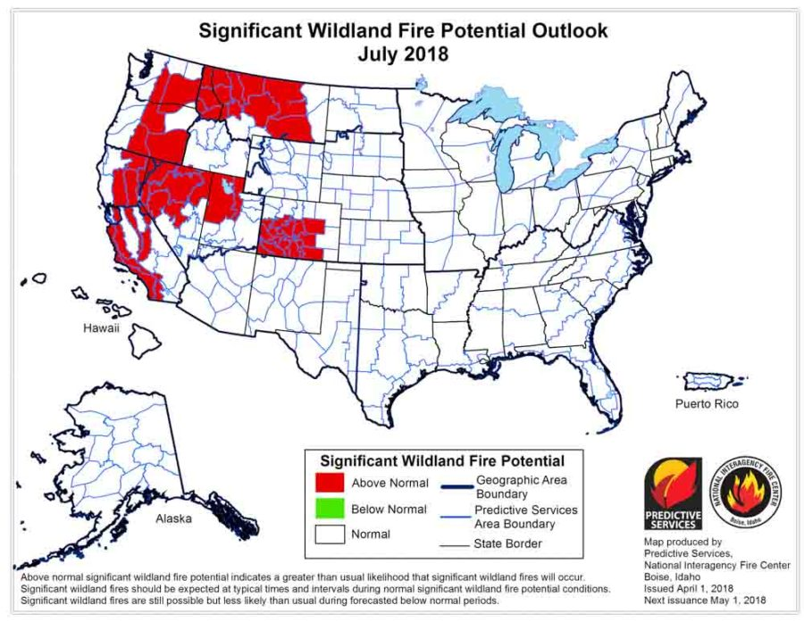 Is Colorado In For An Active Wildfire Season Colorado Association