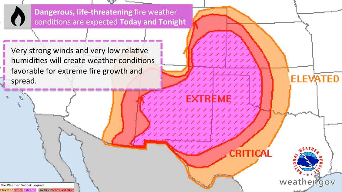 Forecasters warn of Benign wildfire Weather Conditions