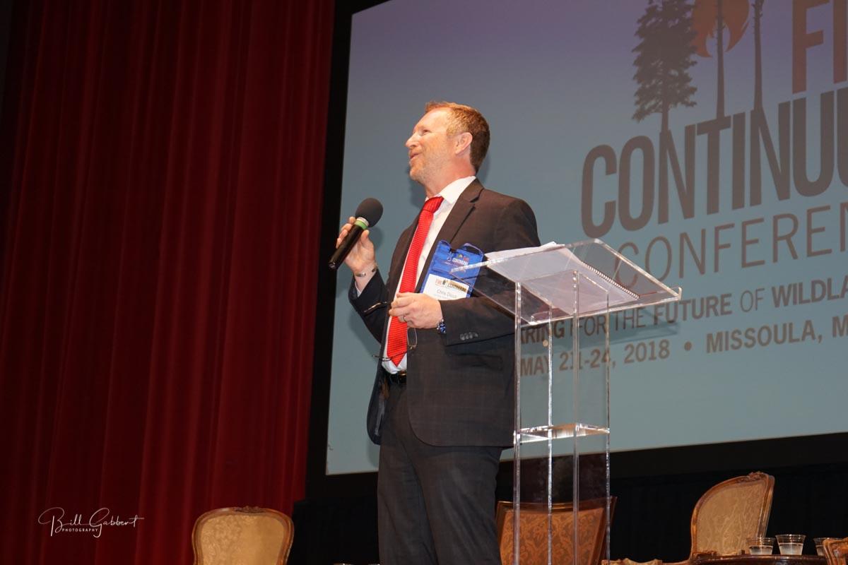 Chris Dicus, President, Association for Fire Ecology