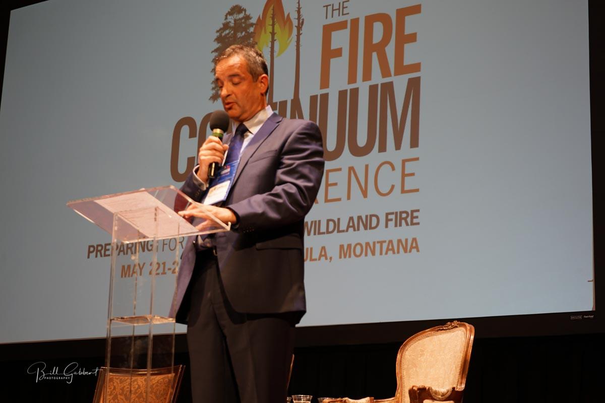 Alen Slijepcevic, President, International Association of Wildland Fire
