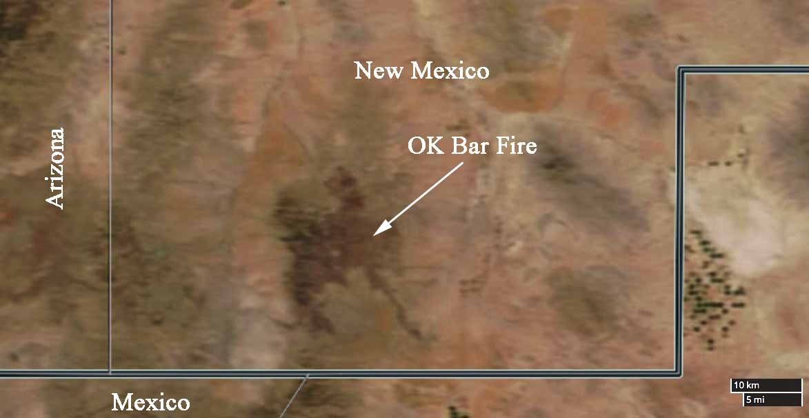 OK Bar Fire in New Mexico is just about wrapped up