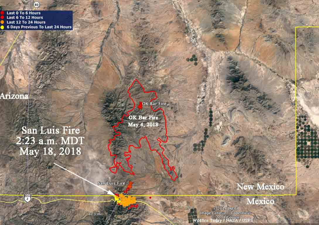 New Mexico Wildfire Map San Luis Fire Archives   Wildfire Today New Mexico Wildfire Map
