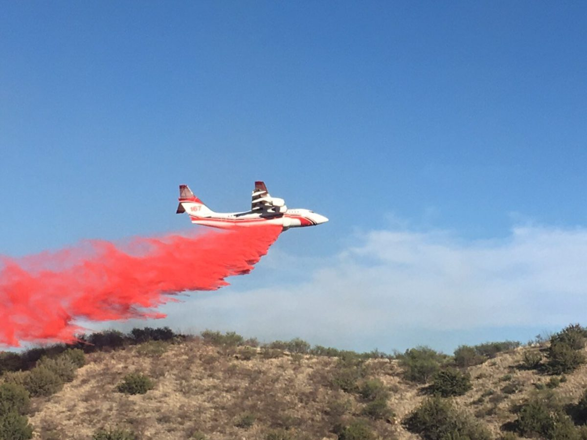 Barrel Fire air tanker 167