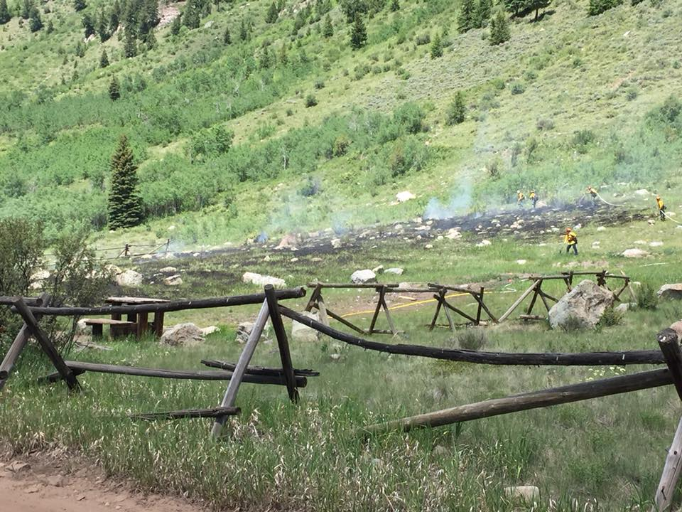 Man faces charges for starting wildfire with exploding target in Colorado