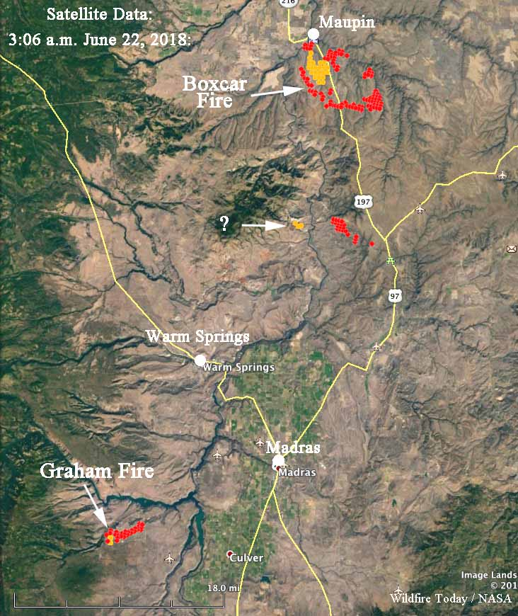 New fires in Northern Oregon keep firefighters busy   Wildfire Today