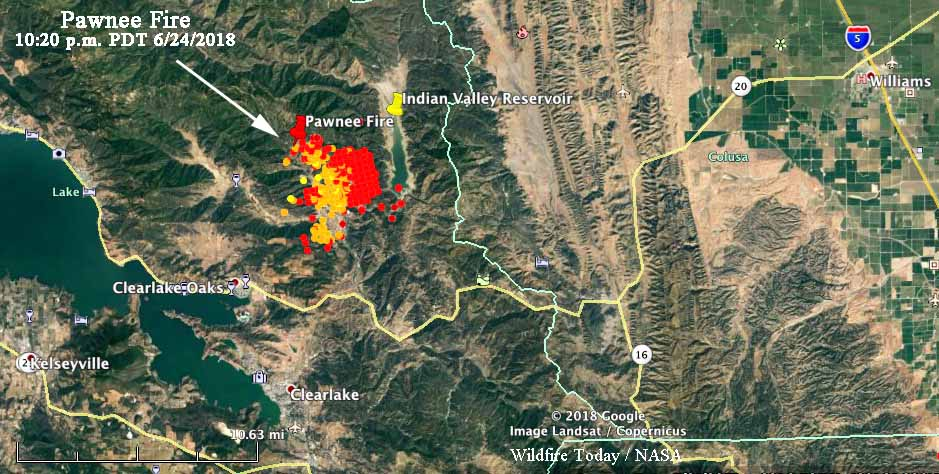 PawneeFireMap_1020pmPDT_6 24 2018   Wildfire Today