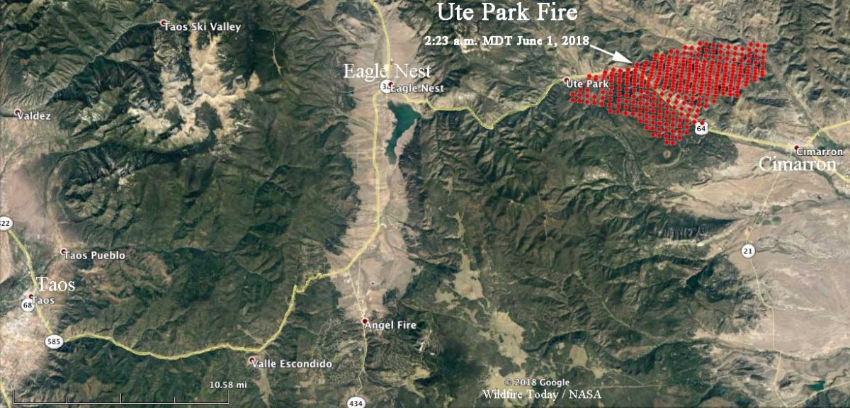 Ute Park Fire Archives   Wildfire Today
