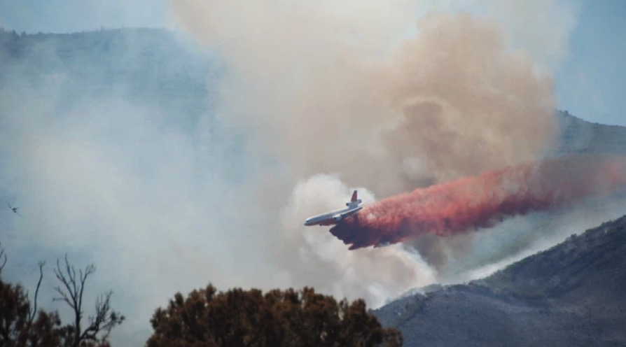 Spring Creek Fire becomes third largest in state history