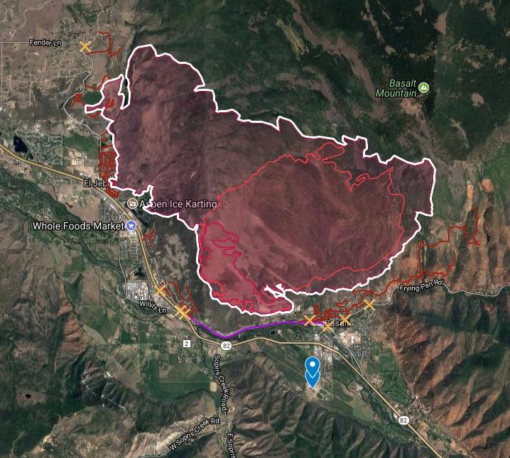 Colorado Springs Shooting Range: Evacuations Ordered For Lake Christine Fire At Basalt
