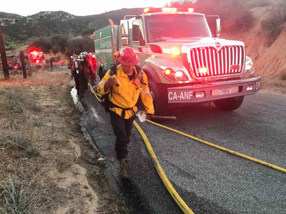 Hunter Fire California Lake Hughes