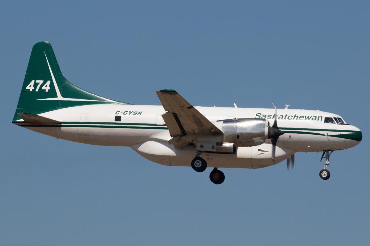 Saskatchewan air tanker 474
