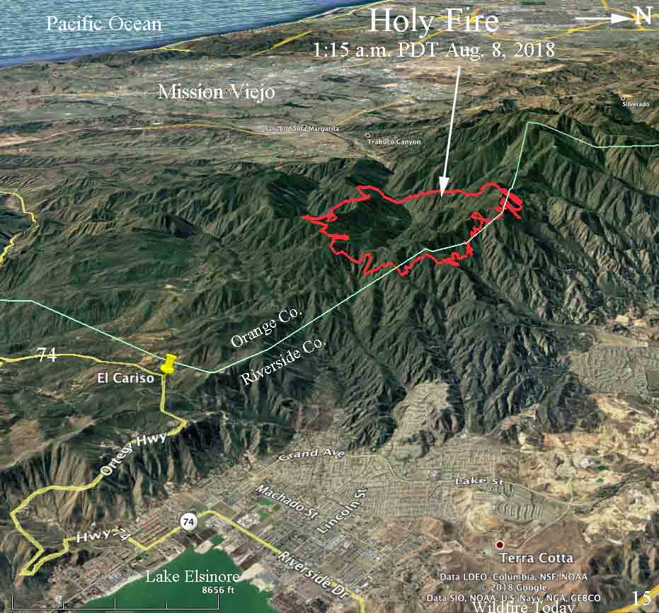 map Holy Fire August 8
