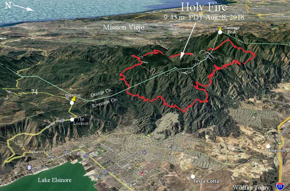 map holy fire