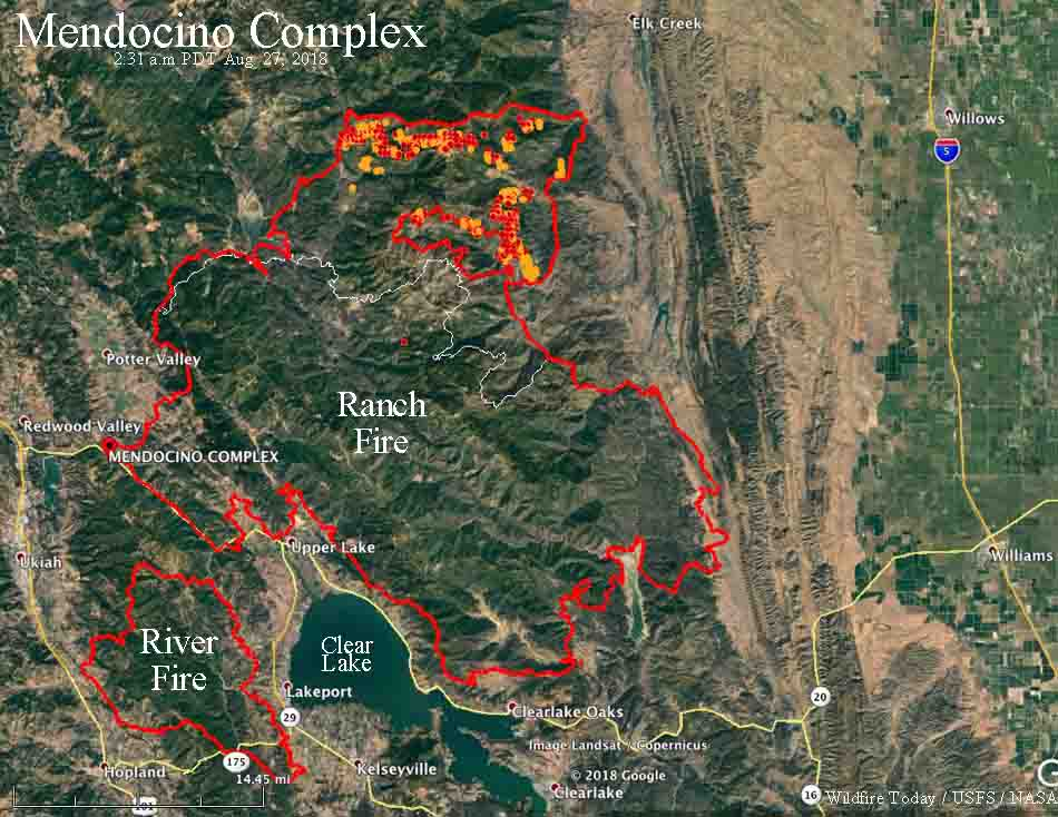 After one month the Ranch Fire has burned over 400,000 acres