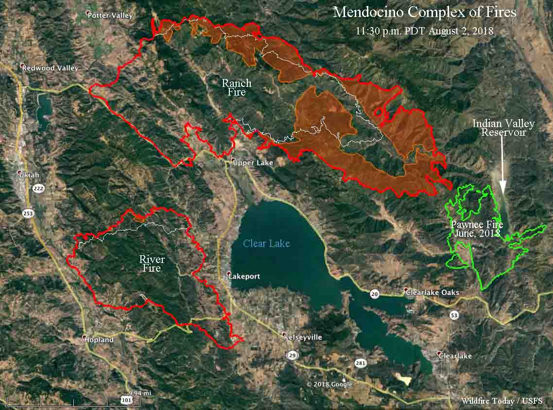 Mendocino complex fires river ranch