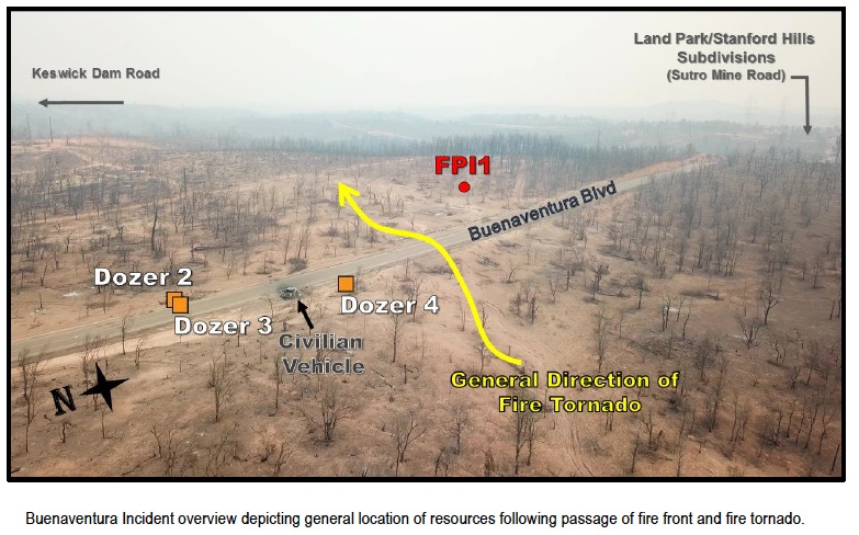 Carr Fire fatality report