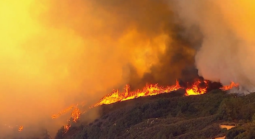 Holy Fire California