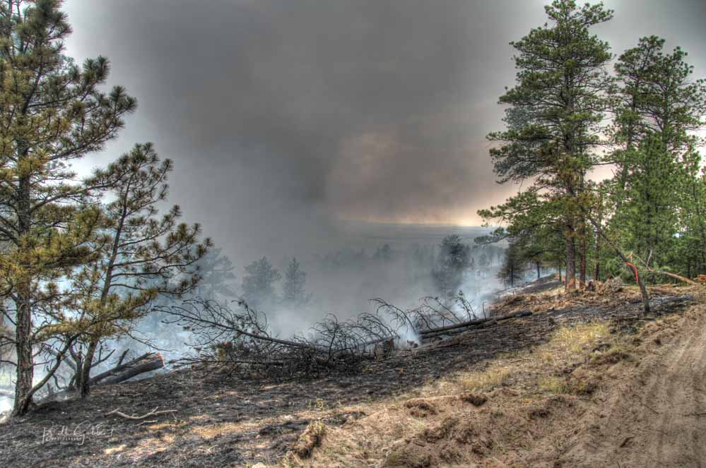 """Forest Service: wildfire smoke is """"bad for your health"""""""
