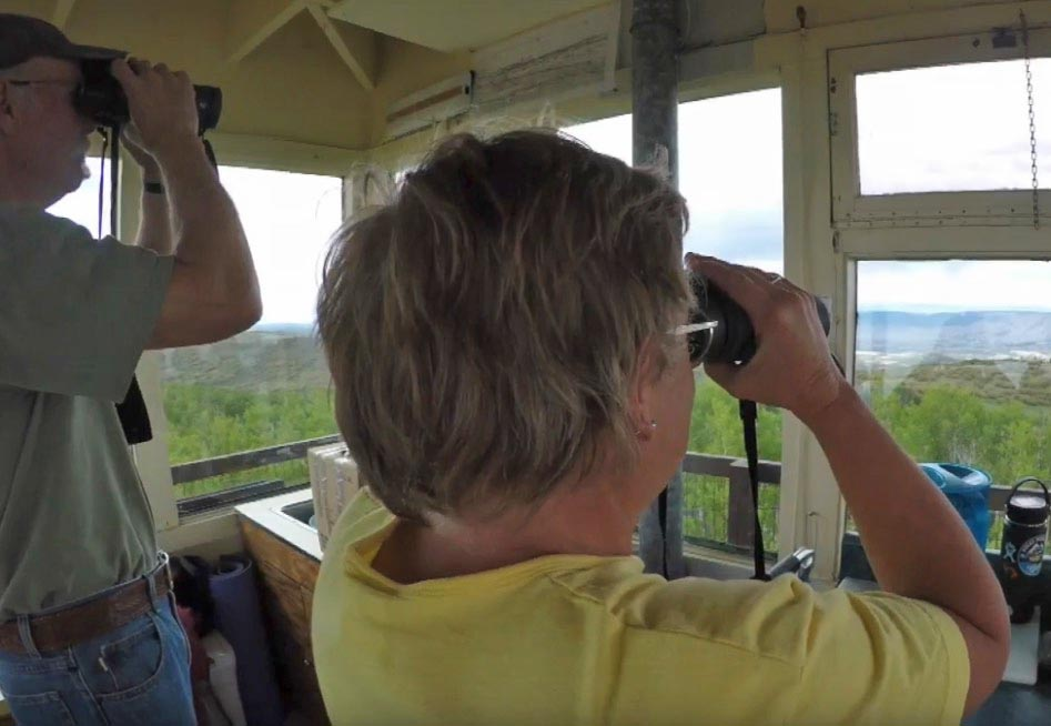 Introduction to the Dolores fire lookout in Colorado