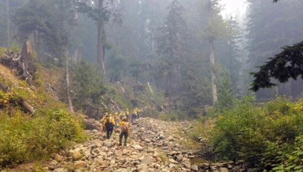 Alaska EFF firefighters