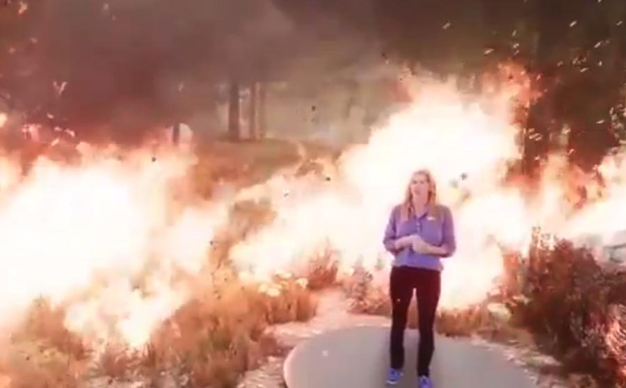 The Weather Channel video how wildfires burn