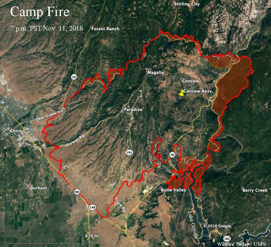 Fire Officials Release List Of Structures Burned In Camp Fire