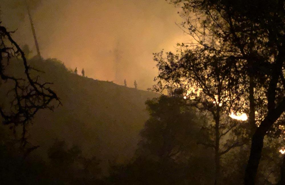 Camp Fire Northern California