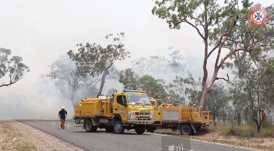 Deepwater Fire Queensland