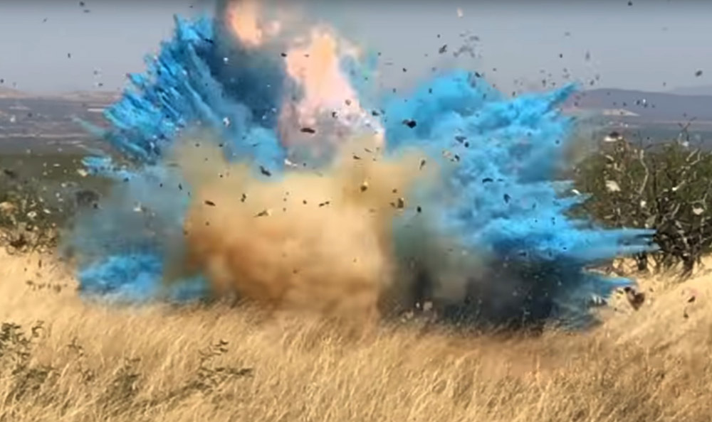 Video shows gender-reveal mishap that led to 47K-acre wildfire
