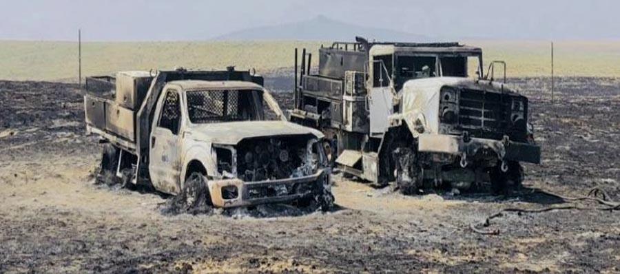engines burned North Eden Fire