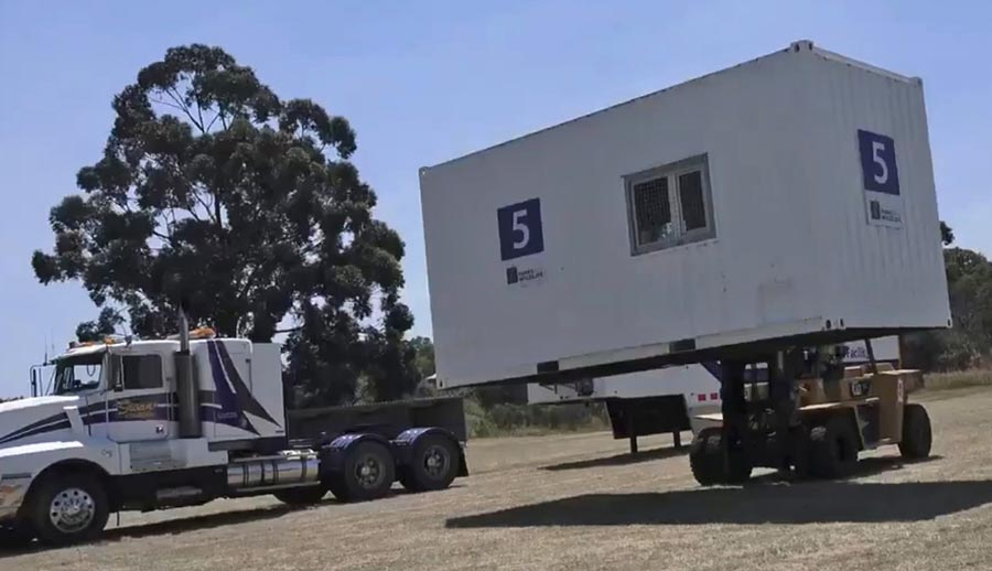 Container Fire Camp